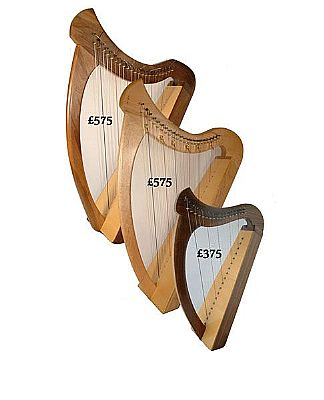 Handmade Small Welsh Harps Speed Music