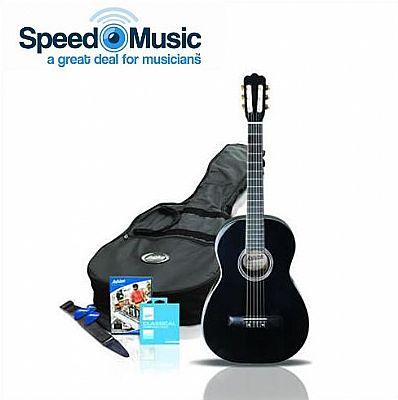 ashton cg34 three quarter size classical guitar starter package speed music. Black Bedroom Furniture Sets. Home Design Ideas