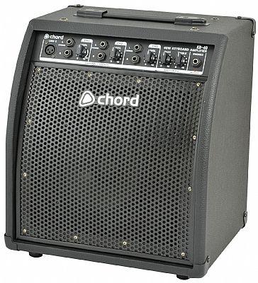 chord kb40 keyboard amplifier 40 watts speed music. Black Bedroom Furniture Sets. Home Design Ideas