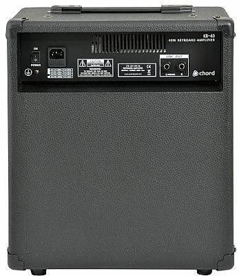 Chord KB40 Keyboard Amplifier 40 watts - Speed Music
