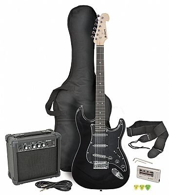 chord cal63pk electric guitar amp pack black finish speed music. Black Bedroom Furniture Sets. Home Design Ideas