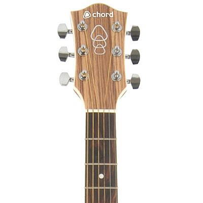 Chord N5Z Native Zebrano Electro-Acoustic Guitar - Speed Music