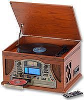 Steepletone 5-in-1 Music System with CD Burner