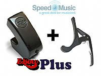 Ebow Plus Hand Held Sustainer: bundled with a Squeeze Guitar Capo