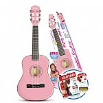 Music Alley 1/2 Size Junior Guitar - Pink