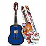 Music Alley 1/2 Size Junior Guitar - Blue