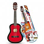 Music Alley 1/2 Size Junior Guitar - Red