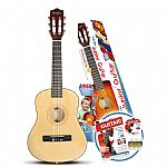 Music Alley 1/2 Size Junior Guitar - Natural
