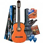 Ashton CG44L Left Hand Classical Guitar Starter Package