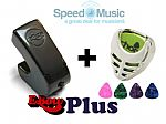 Ebow Plus Hand Held Sustainer: bundled with FREE Plectrum-Holder & Picks