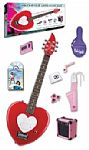 Daisy Rock Heartbreaker Short Scale Electric Guitar Package with Amp