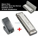 THE  EBow Plus Sustainer Bundled with Blues Harmonica