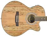 Chord N5SM Native Spalted Maple Electro-Acoustic Guitar