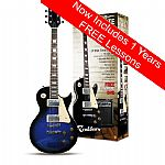Rockburn LP2 Electric Guitar Package - Blue