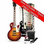 Rockburn LP2 Electric Guitar Package - Tobacco Sunburst